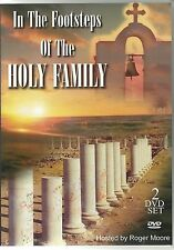 IN THE FOOTSTEPS OF THE HOLY FAMILY - 2 DVD BOX SET HOSTED BY ROGER MOORE