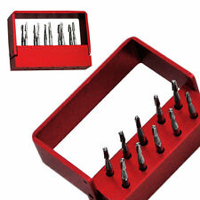 Dental Tungsten Steel drills/burs For High speed Handpiece FG-1957 10pcs/Box