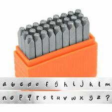 ImpressArt- Basic Bridgette Lowercase Letter Metal Stamp Set