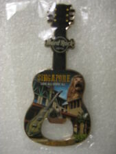 Hard Rock Cafe,SINGAPORE,HOTEL,MAGNET,Guitar Bottle opener