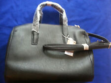 PURSE CARPISA TOTE BAG BLACK HANDBAG, NEW!, ITALY PURCHASE, ROOMY, & COIN PURSE