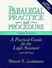 Paralegal Practice And Procedure 3e