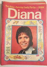 RARE DIANA GIRLS MAGAZINE CLIFF RICHARD FRONT COVER  MARC BOLAN NOVEMBER 1972