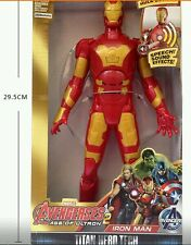 Iron Man toy with wrong sound effects