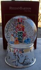 REED & BARTON Toy Soldier Musical Snowglobe Snow Globe Snowdome New In Box