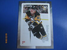 SIDNEY CROSBY $1.80 Stamp 2016 Canada Post Hockey Card  NHL Pittsburgh Penguins