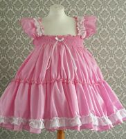 *SALE - ALL SIZES £35* Adult Baby Sissy Frilly Dress Cross cosplay Boi lolita