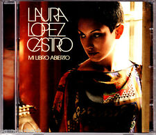 """CD - """" Laura Lopez Castro - Mi Libro Abierto """" muy buen estado"""