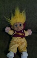 Big Russ Troll  NFL Washington Redskins Plush Toy Doll Vtg Rare