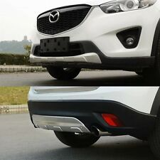 Stainless steel Front & Rear Bumper Protector Plate for Mazda CX-5 CX5 2012-2016