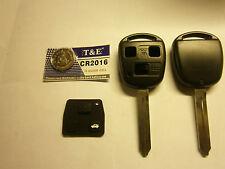 Toyota blank key kit. 3 button ... avensis.. 2003 to 2010