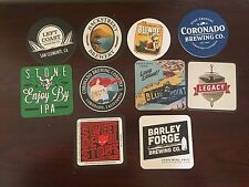 10 Coasters From Various Breweries - Craft Beer - Brewery