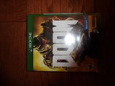 Doom - Xbox One Game - Brand New - Factory Sealed!!