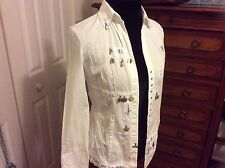 Elisa Cavatelli's blouse white size Small Made in Italy