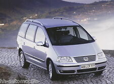 Originales Pressefoto VW Sharan 9 03 original press photo 24x17,8 cm  Nr11 2003