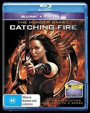 ●● The Hunger Games : CATCHING FIRE ●● (Blu-ray + UV Digital, 2014) ***AS NEW***