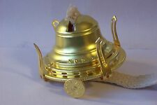 NEW #2 SOLID BRASS QUEEN ANNE OIL BURNER WITH WICK 10622JB