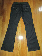 "Joe's Jeans Womens Size 27x34"" Berlin Black Honey Bootcut  Denim Jeans"