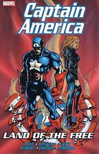 Captain America: Land of the Free by Waid Kubert Casey Jurgens TPB 1999 Marvel