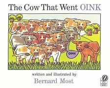 The Cow That Went OINK by Bernard Most (2003, Paperback)