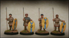 Late Roman Unarmoured Infantry Standing Footsore Miniatures SAGA 03LRM107