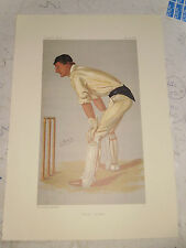 VANITY FAIR PRINT CRICKET OXFORD CRICKET PHILIPSON FREE  UK POSTAGE