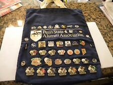 44 VARIOUS PENN STATE BOWL, NATIONAL CHAMPIONSHIP, GAME, AND VINTAGE PINS