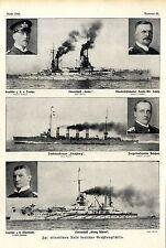 Deutsche Großkampfschiffe und ihre Kapitäne * Historische Memorabile von 1913