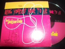 The Jackson Code Bring Yourself To Me Rare Australian Card Sleeve 4 Track CD EP