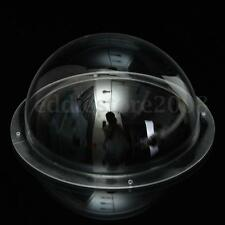 6 Inch Clear Indoor Outdoor Dome Housing Case Cover for Security CCTV CCD Camera