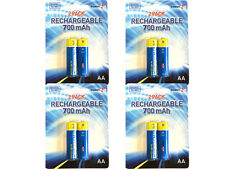 NEW 8 x AA 1.2v R6 NiMH RECHARGABLE SOLAR GARDEN LIGHT REPLACEMENT BATTERIES