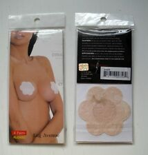 Leg Avenue Floral Pasty Daisies 4 Pairs in a package  Color Nude