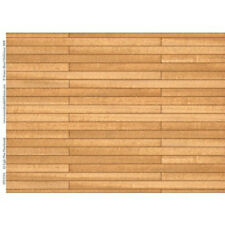Pine Floorboards Card Size A3 41cm x 29.5cm for a dolls house : 12th scale