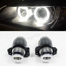2006-08 3 Series E90 E91 For BMW Headlight Angel Eye Ring Marker Halo Light Led