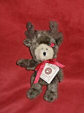 "Boyd's Best Dressed Series  - Ho Ho Mooselbeary 8"" with hang tag 1988-2005"