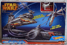 Star Wars Hot Wheels X-Wing Assault Galactic Battle Playset - In Stock - Fastest