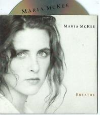 MARIA McKEE Breathe 3 TRACK CARDslv CD SINGLE 1991