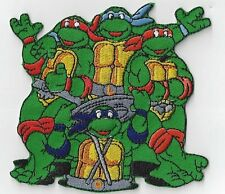 NINJA TURTLES IRON ON PATCH BUY 2 GET 1 FREE = 3 OF THESE