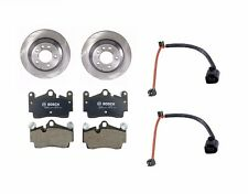 Audi Q7 Porsche Cayenne VW Touareg Set of 2 Rear Brake Disc + Pads + Sensors