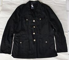 NWOT Polo Ralph Lauren Men's Canadian Utility Combat Jacket Coat Black Sz L