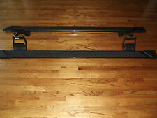 """2015-2016 Ford F150 crew cab step side bars oem running boards 5"""" gray factory"""
