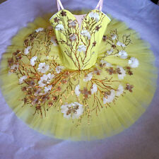 Professional Yellow Ballet Tutu Costume Canary Fairy Avail. In Peach Custom MTO