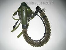 Surplus China air force fighter pilot YM 6505 OXYGEN Mask-CN027