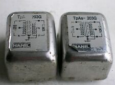 2 pcs HANIL Made by Tamura TAMRADIO Audio Transformer TpAs 203G 600Ω : 10KΩ