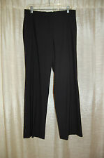 Jil Sander Black Virgin Wool Pants Size 42 Made in Garmany