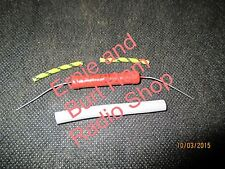 High Voltage Resistor 1.5k 5W with insulating tubes for Yaesu FT-101 FL-101 etc