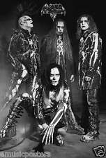 """LIZZY BORDEN """"BLACK & WHITE GROUP SHOT"""" POSTER FROM ASIA (#55002)"""