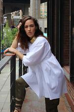 NWT GENUINE ZARA WHITE MINI DRESS POPLIN SIZE M/28 ONLY ONE