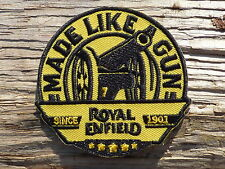 ECUSSON PATCH THERMOCOLLANT aufnaher toppa ROYAL ENFIELD moto motorcycle classic