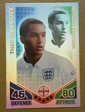 Match Attax England 2010 Topps Theo Walcott limited edition card very rare.